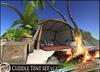 Headhunter's Island - Tropical Beach lagoon outdoor cuddle tent / plants / rock / campfire / 116 multi-animations [MESH]