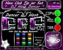 * Animation *Tip jar Set DJ/Host/Dancer*Menu Driven*