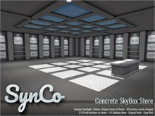 SynCo - Concrete Skybox Store