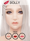 :cosmerie: Dolly_Skin applier(SNOW)CATWA