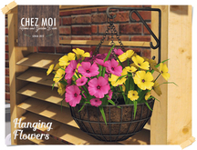 Hanging Flowers ♥ CHEZ MOI