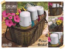 Classic Picnic Basket ♥ CHEZ MOI