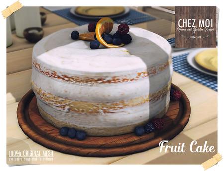 Fruit Cake ♥ CHEZ MOI