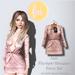 (fd) Open Party Dress - Velvet Peach