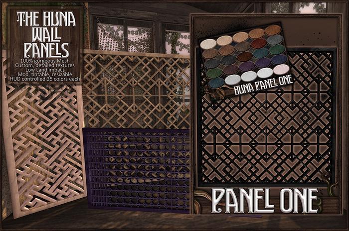 :[P]:- Huna Wall Panels:// One
