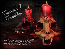 ::Static:: Catskull Candle - Dark