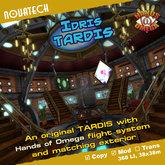 Idris TARDIS - Hands of Omega (HoO) Console
