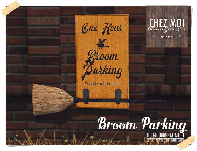 Broom Parking ♥ CHEZ MOI