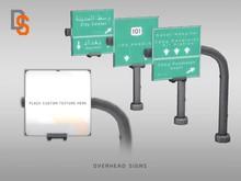 [DI] Overhead Signs