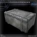 (Box) Old Large Strongbox