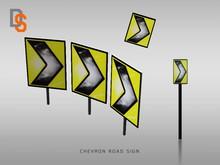 [DS] Chevron Road Sign