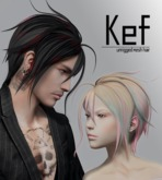 [BAD HAIR DAY] - Kef - BLACK and WHITE