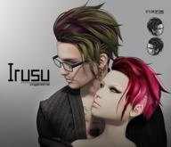 [BAD HAIR DAY] - Irusu - BLACK and WHITE