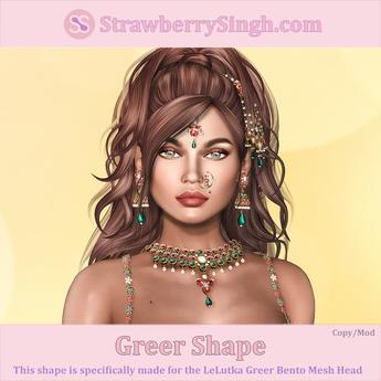 StrawberrySingh.com Greer Shape