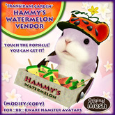 *FG* Hammy's Watermelon Vendor Set (Popsicles)