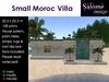 Cute Small Moroc Villa