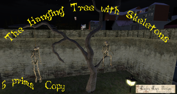 The Hanging Tree with Skeletons