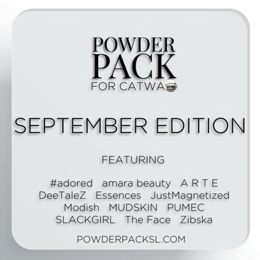 Powder Pack for Catwa September Edition