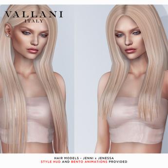 VALLANI. Jenni & Jenessa Hair Demo [Bento Animated]