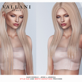 VALLANI. Jenni & Jenessa Hair Demo [Unpacker Hud]