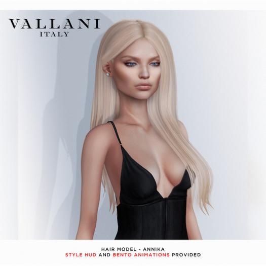 VALLANI. Annika Hair [Bento Animated]