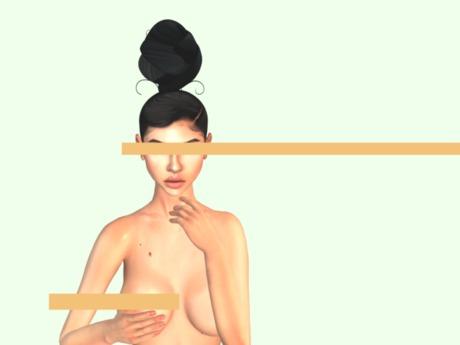 F.Q Synthetic bun