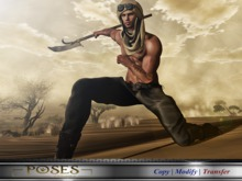 [ XECLIPSEX ] - Pose Single # 78 Warrior of the Sands + (Send Mesh)