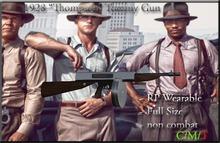 """M1928 Tommy Gun """"Thompson"""" Machine Gun"""