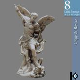 3D / ArchAngel Figurine / 8 land impact