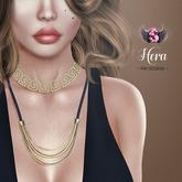 .::Supernatural::. Hera Necklace [Gold]