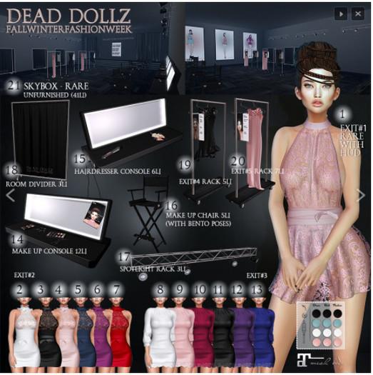 21. Dead Dollz - F/W - FASHION WEEK - Backstage - RARE