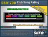 SHX-CSR-200 - Club Song Rating