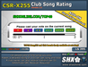 SHX-CSR-X255 - Club Song Rating