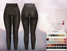 Ricielli - Larissa Leather Pants (32 Colors HUD)