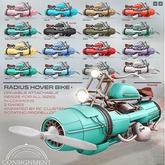 [Con.] Radius Hover Bike - Black RARE