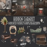 NOMAD // HIDDEN CABARET Complete Set with RARE