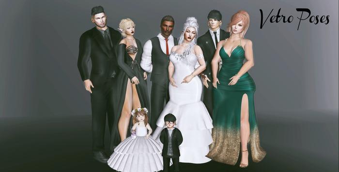 ++ Vetro Poses - Wedding Pose 03 ++