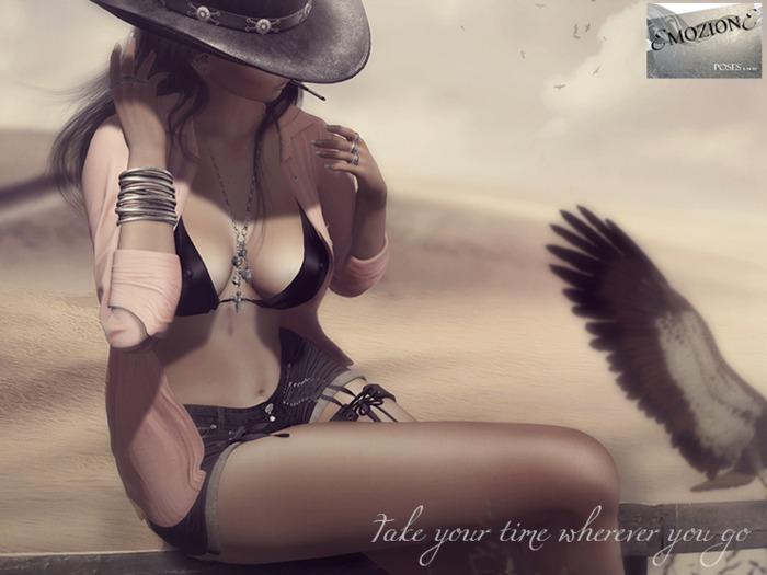 <EMOZIONE> Pose **Take Your Time Wherever You Go**!