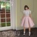 Zan's Little lady set (skirt) (Pastel gingham)