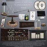 Fancy Decor Candlemaker's Shop Complete Set