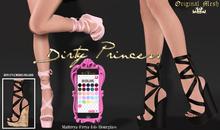 *Dirty Princess* Malibu & L.A. Princess Heels w/Hud 26 Colors