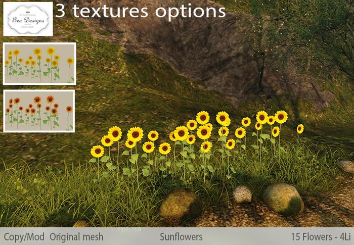 -Bee Designs Sunflowers-