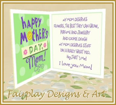 MOTHER/'S DAY Greeting Card /'A Wonderful MUM like you deserves the best/'