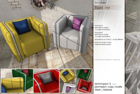 Sway's [Iggy] Armchairs . vinyl