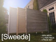 [Sweede] Garden Screen 2 100% Mesh
