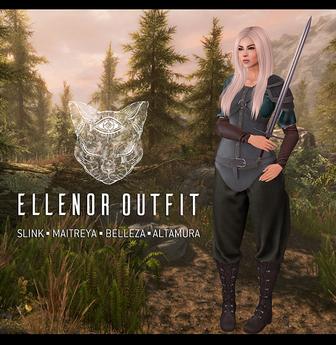 Feral - Ellenor Outfit - Fatpack  - Maitreya, Slink: Physique, Hourglass, Belleza Venus, Altamura