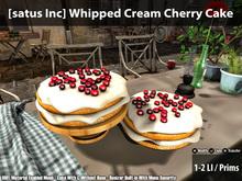 [satus Inc] Whipped Cream Cherry Cake