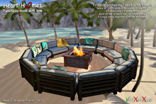 """<Heart Homes> """"Friends Gathering"""" Seating with firepit (Boxed)"""