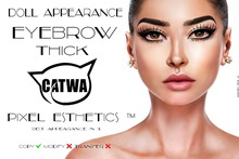 .:DA:. Eyebrow Thick CATWA