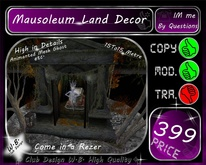 * Top New Mausoleum * Land Decor * Halloween etc. *